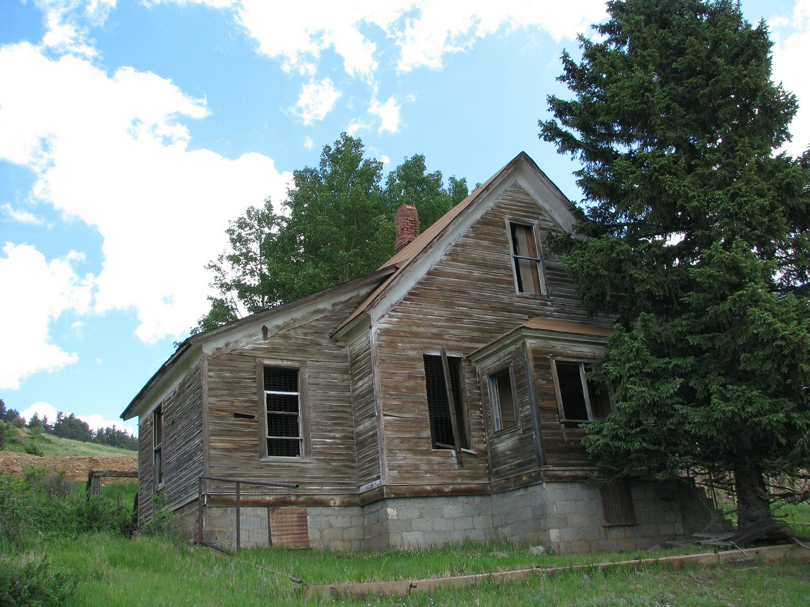 Ghost town photography independence for Building a home in colorado